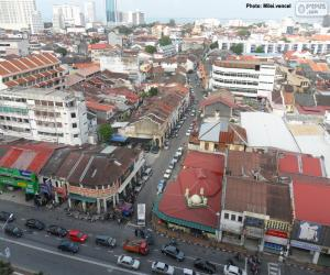 Puzzle de George Town, Malasia