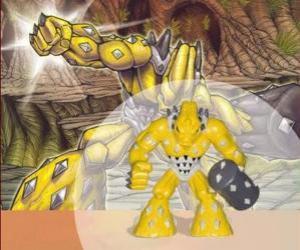 Puzzle de Gheos el señor del poder (Series 1) (Tierra) (Potencia 9)