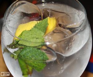 Puzzle de Gin tonic