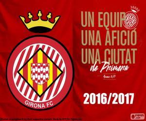 Puzzle de Girona FC 2016-2017