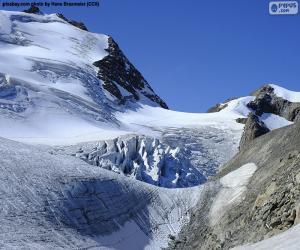 Puzzle de Glaciar Stein, Suiza