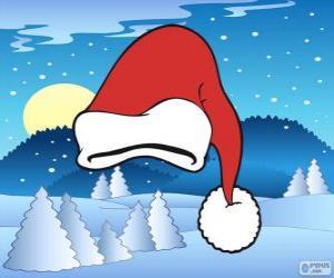 Puzzle de Gorro de Santa Claus