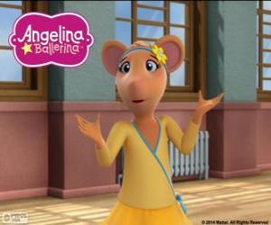 Puzzle de Gracie, personaje de Angelina Ballerina