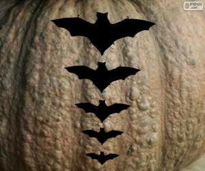 Puzzle de Gran calabaza para Halloween