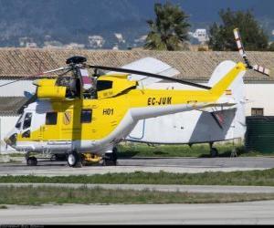 Puzzle de Gran helicóptero