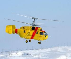 Puzzle de Gran helicóptero Kamov Ka-32A11BC