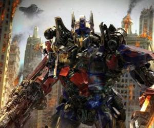 Puzzle de Gran robot Transformer de Disney