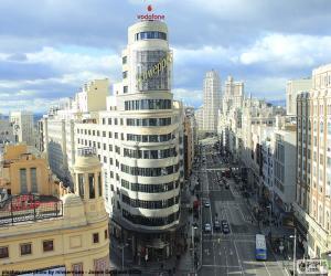 Puzzle de Gran Vía, Madrid