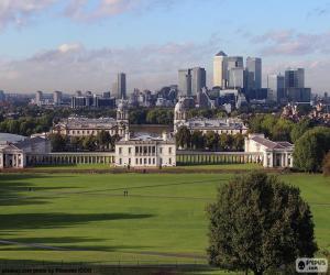 Puzzle de Greenwich Park, Londres