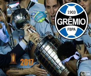 Puzzle de Gremio, campeón Libertadores 2017