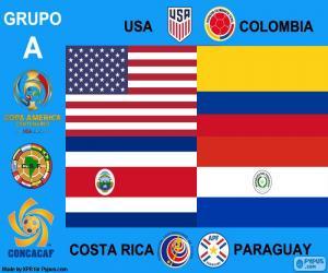 Puzzle de Grupo A, Copa América 2016