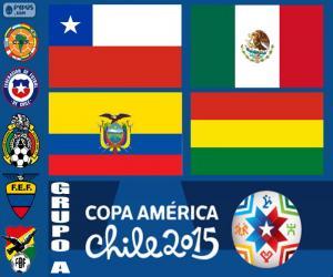 Puzzle de Grupo A, Copa América 2015