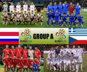 Puzzle de Grupo A - Euro 2012 -
