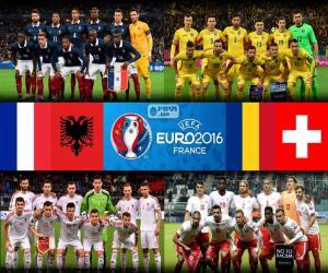 Puzzle de Grupo A, Euro 2016
