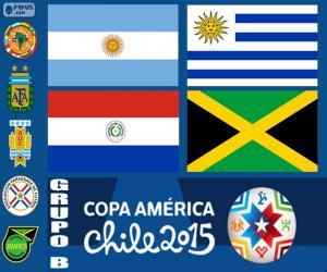 Puzzle de Grupo B, Copa América 2015