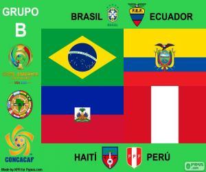 Puzzle de Grupo B, Copa América 2016