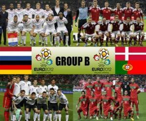 Puzzle de Grupo B - Euro 2012 -