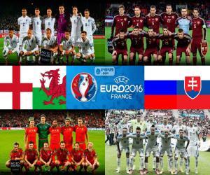 Puzzle de Grupo B, Euro 2016