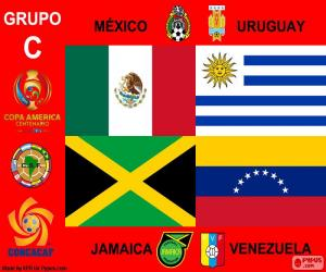 Puzzle de Grupo C, Copa América 2016
