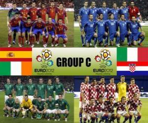 Puzzle de Grupo C - Euro 2012 -