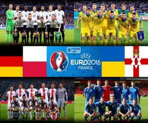 Puzzle de Grupo C, Euro 2016