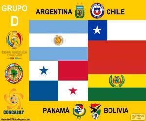 Puzzle de Grupo D, Copa América 2016