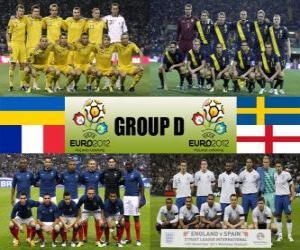 Puzzle de Grupo D - Euro 2012 -