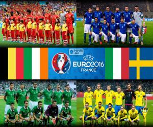 Puzzle de Grupo E, Euro 2016