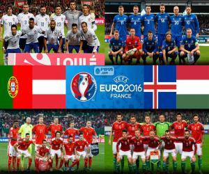 Puzzle de Grupo F, Euro 2016