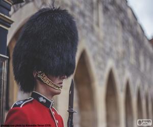 Puzzle de Guardia de la Reina, Londres