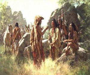 Puzzle de Guerreros indios