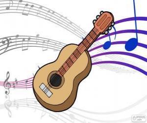 Puzzle de Guitarra clásica