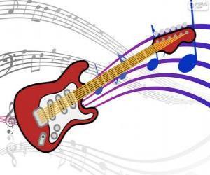 Puzzle de Guitarra eléctrica