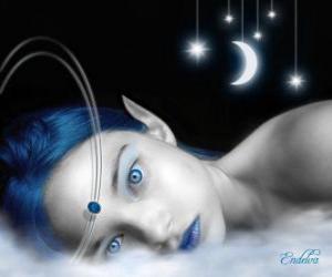 Puzzle de Hada de los ojos azules