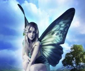 Puzzle de Hada mariposa