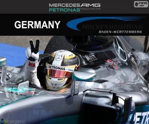 Puzzle de Hamilton GP Alemania 2016