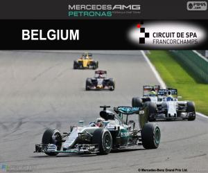 Puzzle de Hamilton GP de Bélgica 2016