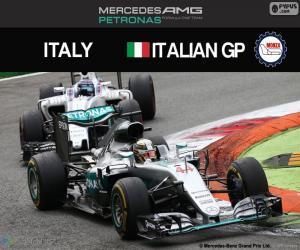 Puzzle de Hamilton, G.P Italia 2016