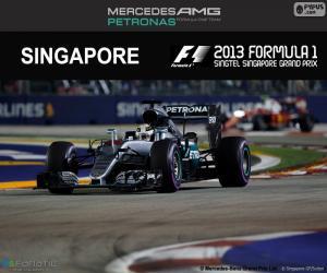 Puzzle de Hamilton, GP Singapur 2016