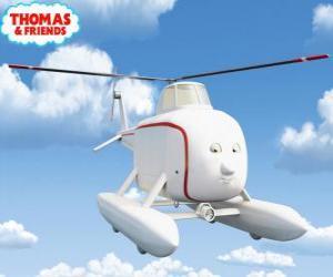 Puzzle de Harol es un helicóptero con buen corazón