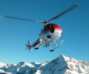 Puzzle de Helicóptero de rescate