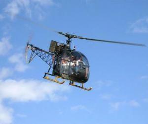 Puzzle de Helicóptero ligero