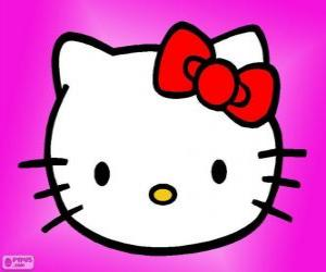 Puzzle de Hello Kitty feliz