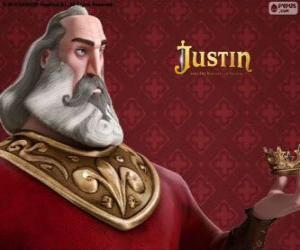 Puzzle de Heraclio, el villano caballero que planea apoderarse del trono