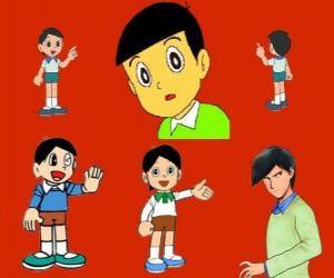 Puzzle de Hidetoshi Dekisugi, compañero de clase de Nobita
