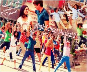 Puzzle de High School Musical 2