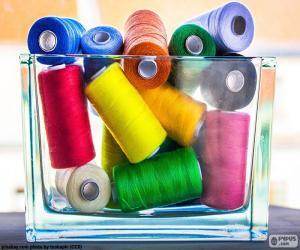 Puzzle de Hilos de coser