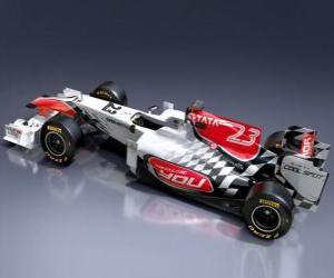 Puzzle de Hispania F111 - 2011 -