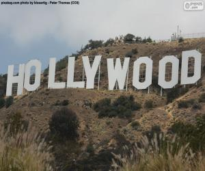 Puzzle de Hollywood Sign