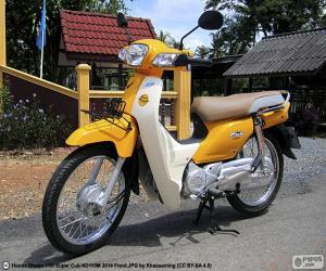Puzzle de Honda Super Cub